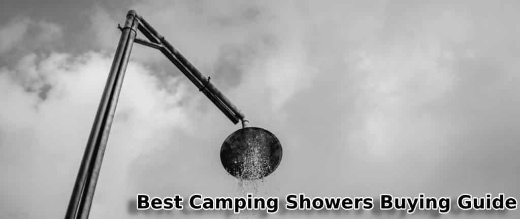 best camping showers