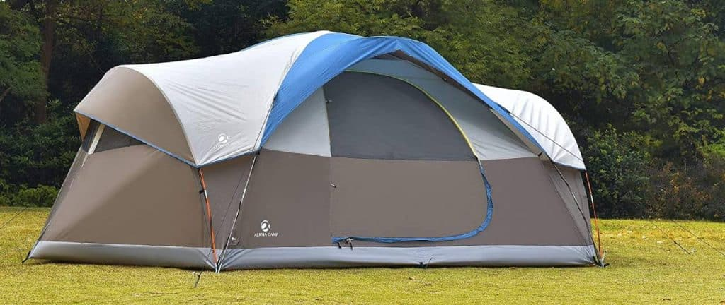 best 8 person tent for camping