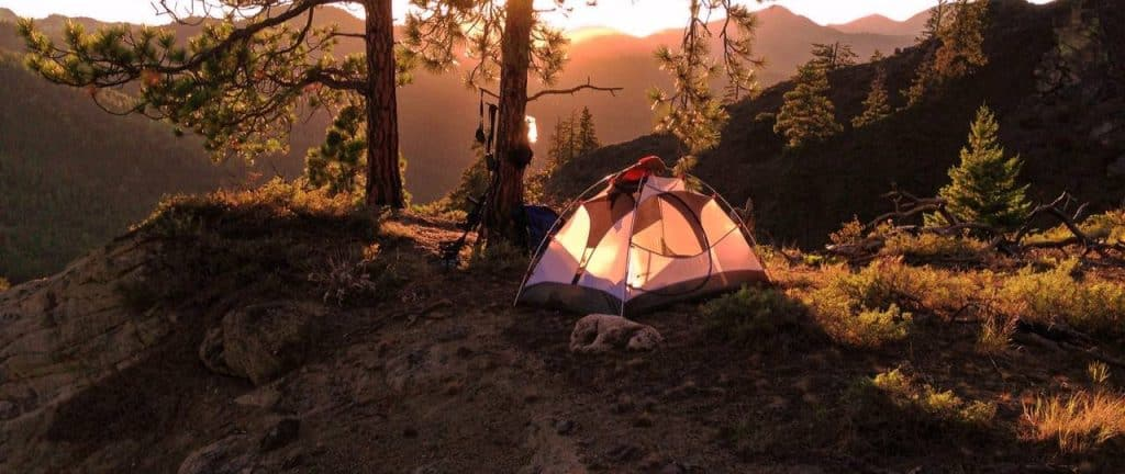 bikepacking tents for camping